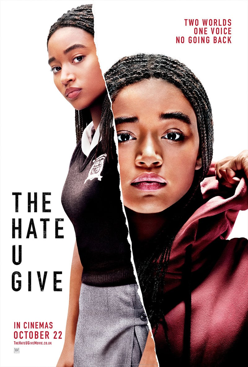 Movie Poster for The Hate U Give